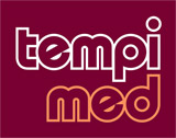 Logo redesign, identity design, signage, packaging and web presence for Tempi Med