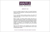 Waffle Public Relations web design