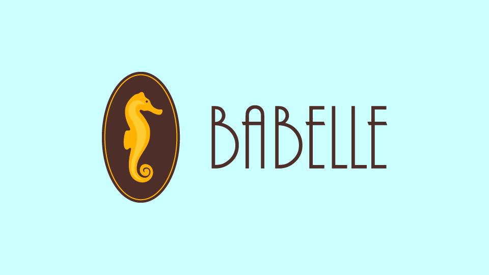 Logo design for boutique patisserie