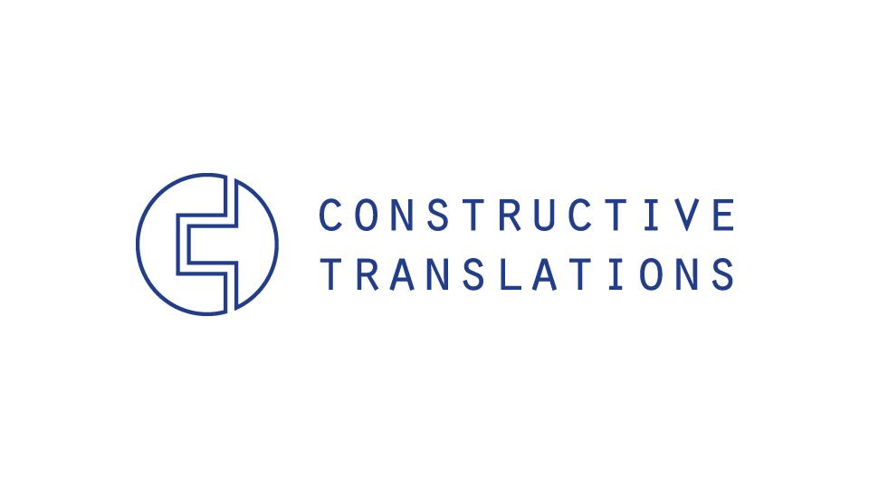 Logo design, brochure design and social media customisation for translation company