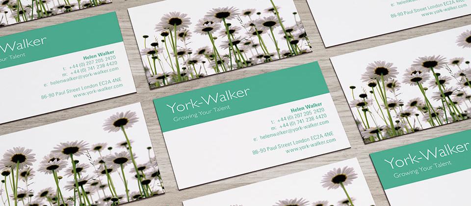 business card design for recruitment consultant